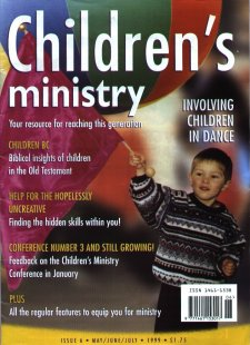 Children's Ministry magazine title page